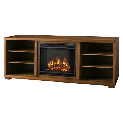 marco electric fireplace tv media stand target