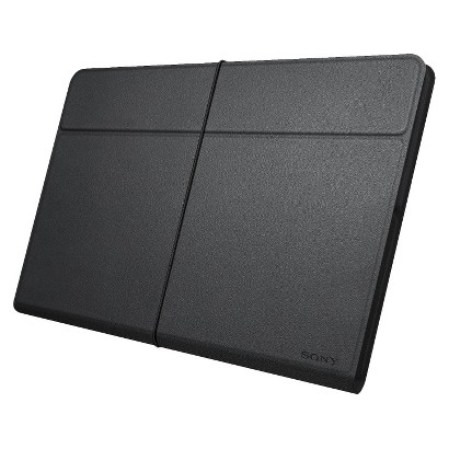 "Sony Leather Cover for 8.38"" Xperia™ Tablet Z - Black (SGPCV5/B)"