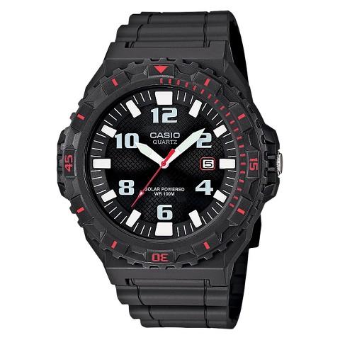 Casio Men's Solar Powered Analog Watch - Grey - MRWS300H-8