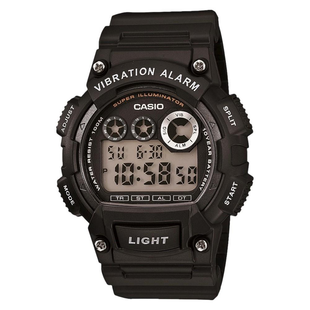 Men's Casio Sport Digital Watch - Black (W735H-1AVCF)