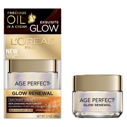 L'Oreal® Paris Age Perfect Glow Renewal Day/Night Cream - 1.7 oz