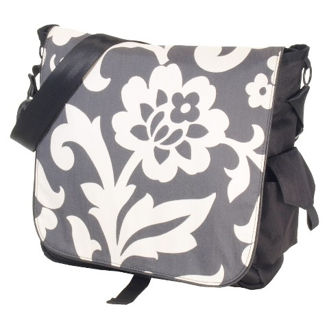 DaisyGear by DadGear Sport Bag Charcoal Whimsy