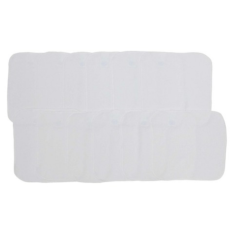 Neat Solutions® 12pk White Washcloths Set