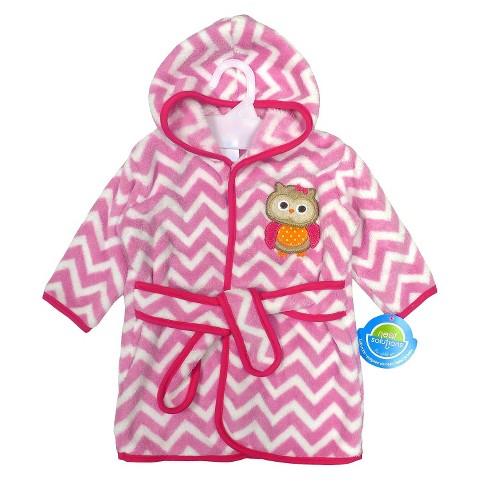 Neat Solutions® Owl Fleece Bath Robe