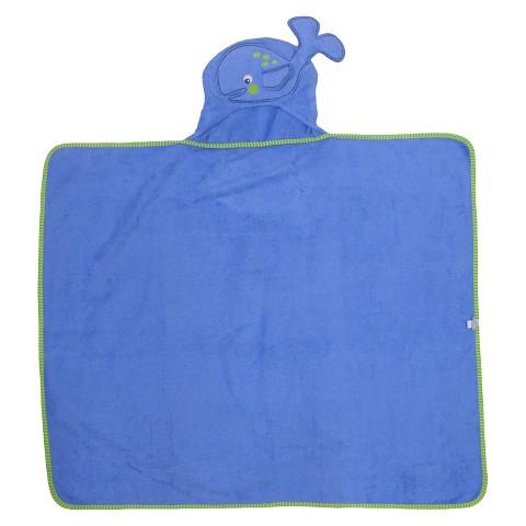 Neat Solutions® Whale Applique Bath Wrap