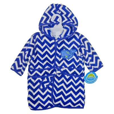 Neat Solutions® Whale Fleece Bath Robe
