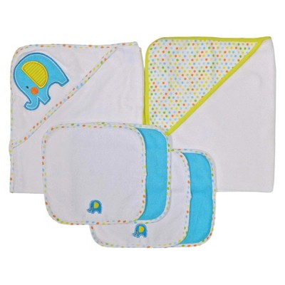 Neat Solutions® Elephant 2 Towels and 4 Washcloths Set