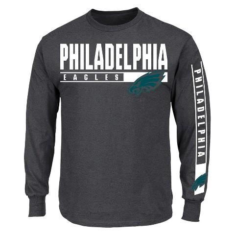 Philadelphia Eagles Team Grit III Team Color Long Sleeve Shirt