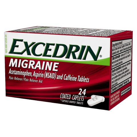 Excedrin® Migraine Pain Reliever Coated Caplets