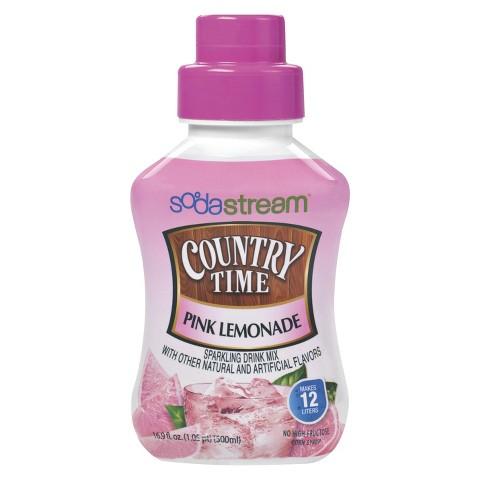 SodaStream™ Country Time Pink Lemonade Soda Mix