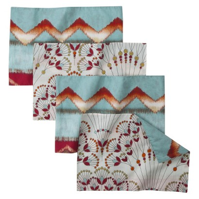 BOHO BOUTIQUE™ ZAZZA PLACEMAT SET OF 4