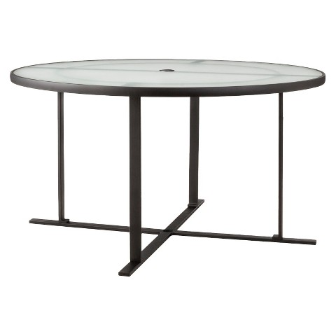 Threshold™ Linden Metal Round Patio Dining Table