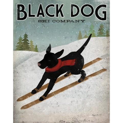 Art.com - Black Dog Ski