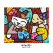 Art.com - Happy Cat and Snob Dog