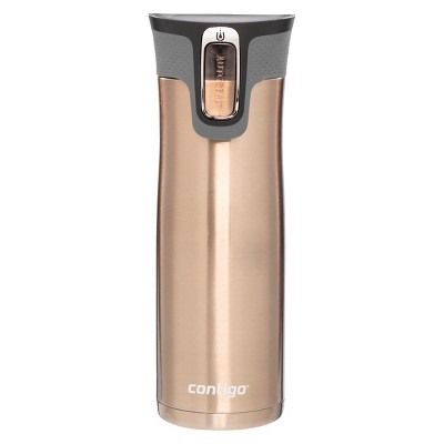 Contigo® AUTOSEAL® West Loop Stainless Travel Mug with Open-Access Lid - Latte (20 oz)