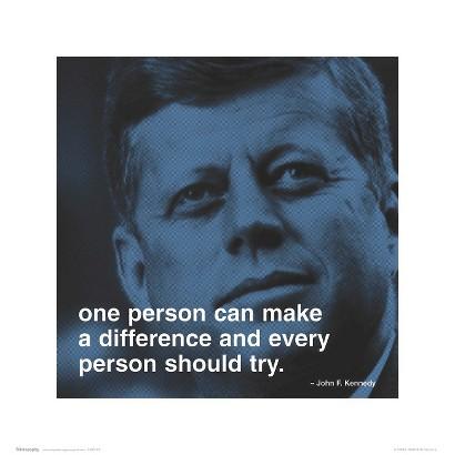 Art.com - JFK: Make a Difference