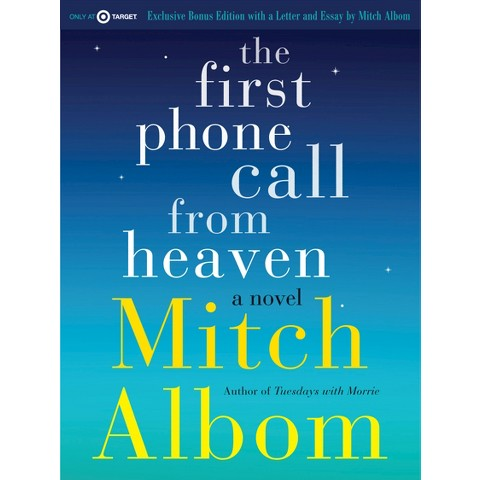 Only at Target:The First Phone Call from Heaven by Mitch Albom(Exclusive Letter+Exclusive Bonus Chapter!)
