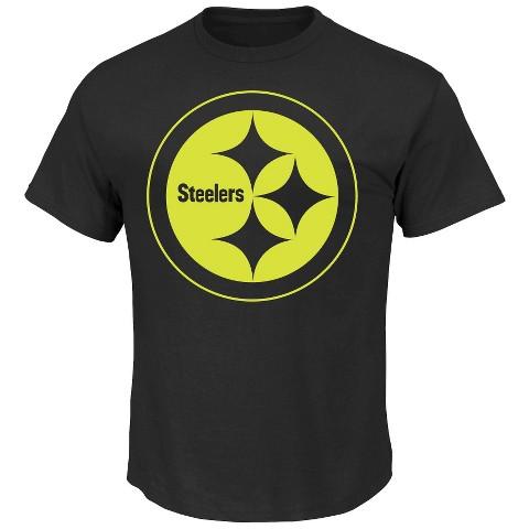 Pittsburgh Steelers No Idle Threat II Tee Shirt - Black