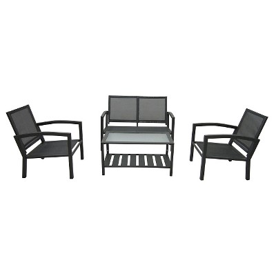 Ecom Patio Conversation Set Thrshd 4 Number Of Pieces In Set Squier