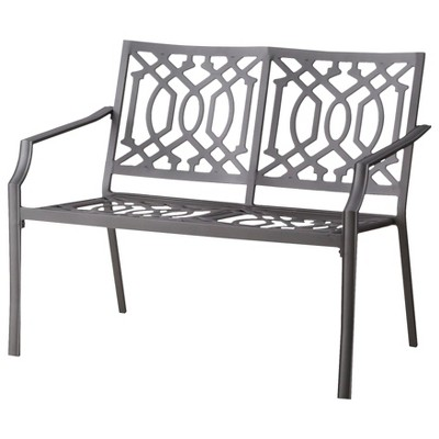 Harper Metal Patio Garden Bench - Threshold™