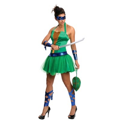 Women's Teenage Mutant Ninja Turtles Leonardo Dress Costume
