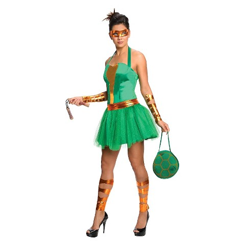 Women's Teenage Mutant Ninja Turtles Michelangelo Dress Costume