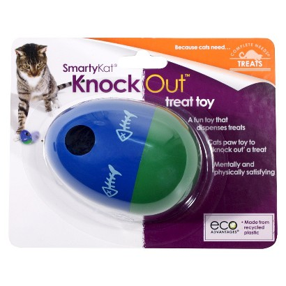 Smarty Kat Knock Out Treat Toy