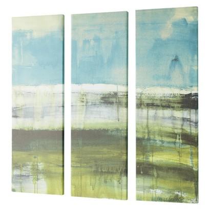 3-Pack Panel Framed Canvas Art