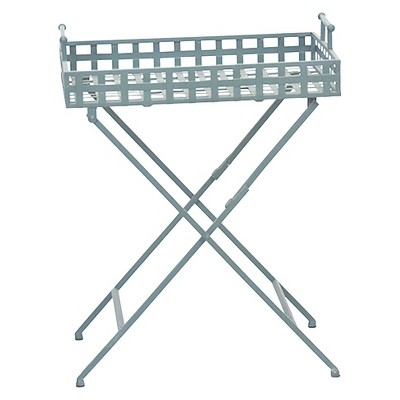 Gray Metal Square Plant Stand - Threshold™