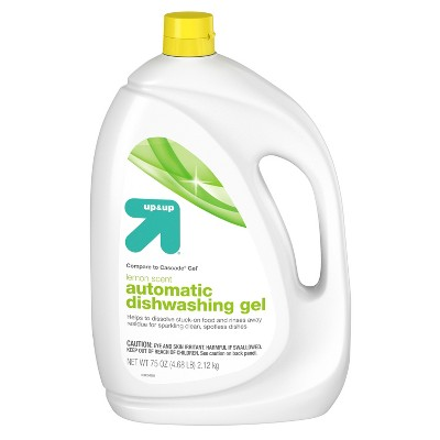 Automatic Dishwasher Gel -Lemon Scent - 75 oz - up & up™