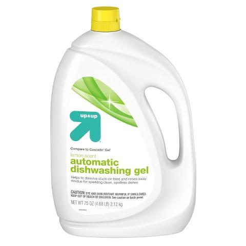 up & up™ Automatic Dishwasher Gel -Lemon Scent - 75 oz