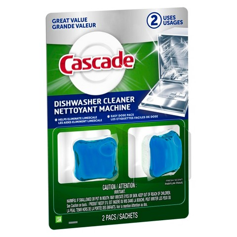 Cascade Dishwasher Cleaner Fresh Scent 2 ct