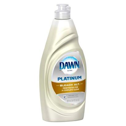 Dawn plus Bleach Fresh Rapids Dishwashing Soap 30 oz