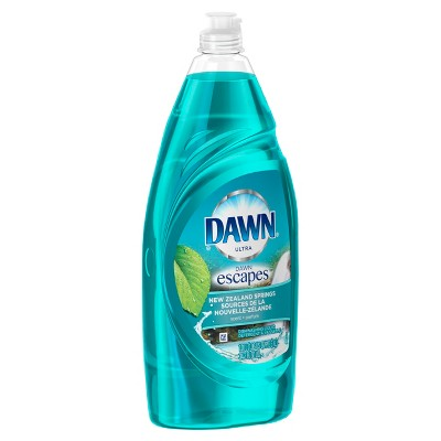 Dawn® Escapes™ New Zealand Springs™  Dishwashing Liquid 34.2 Oz