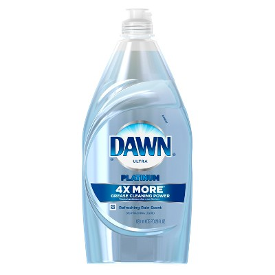 Dawn® Platinum Power Clean™ Refreshing Rain™ Dishwashing Liquid 28 Oz