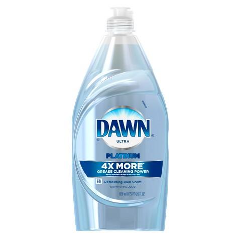 Dawn® Platinum Power Clean™ Refreshing Rain™ Dishwashing Liquid 28 Oz