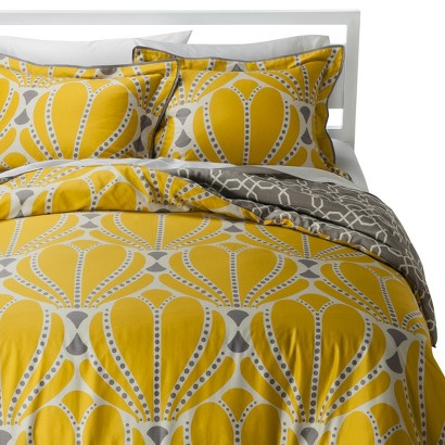 ROOM 365™ DECO SCALLOP REVERSIBLE COMFORTER SET - FULL/QUEEN