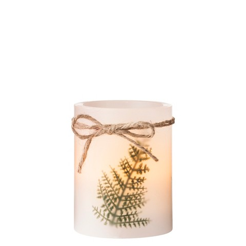 Smith & Hawken™ LED Candle with 4 Hour Timer Freesia Scent 3x4""