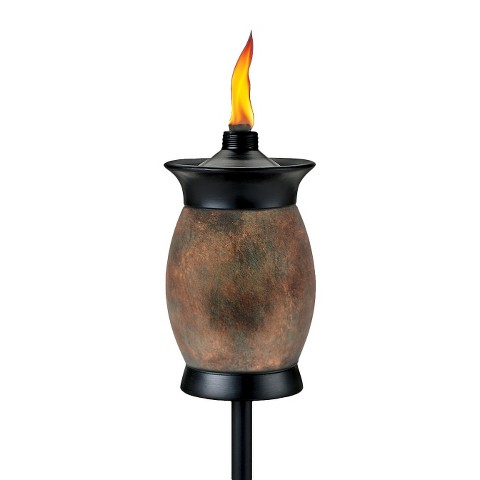 TIKI® Brand 4 in 1 Torch - Travertine