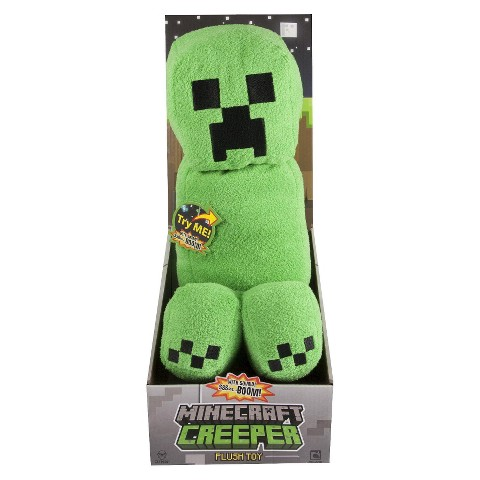 Minecraft Creeper Plush With