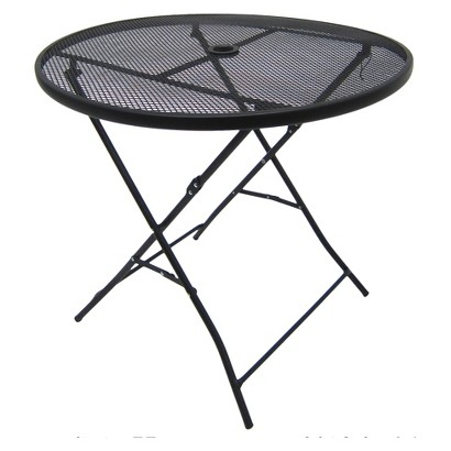 """RE Steel Mesh 32"""" Round Table"""