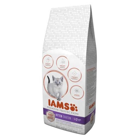 Iams Premium Protection Dry Kitten Food 4.4 lbs
