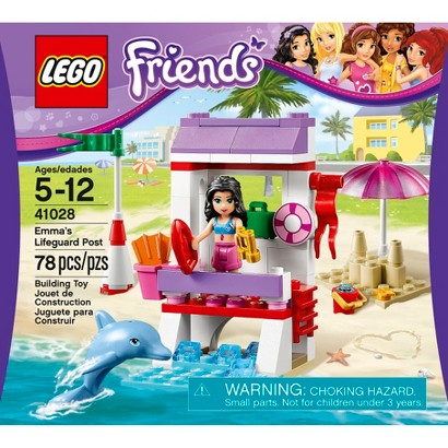 LEGO® Friends Emma's Lifeguard Post 41028