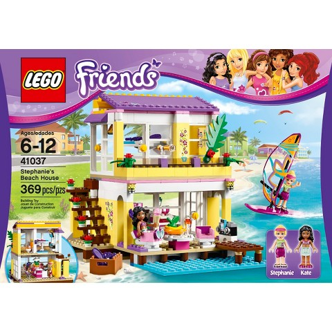 lego friends stephanie 39 s beach house 41037. Black Bedroom Furniture Sets. Home Design Ideas