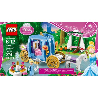 LEGO® Disney Princess Cinderella's Dream Carriage 41053