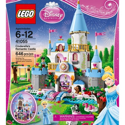 LEGO® Disney Princess Cinderella's Romantic Castle 41055