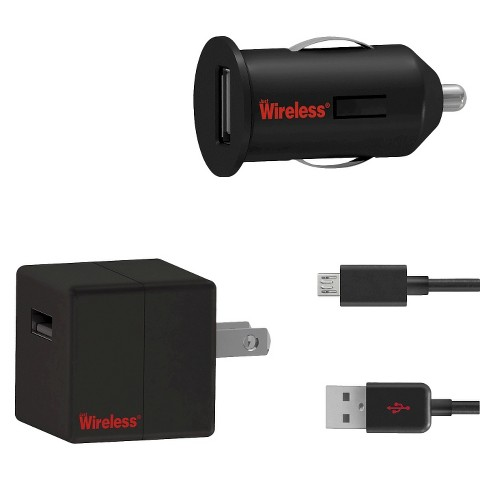 Just Wireless Mobile Phone Battery Charger Pack - Black