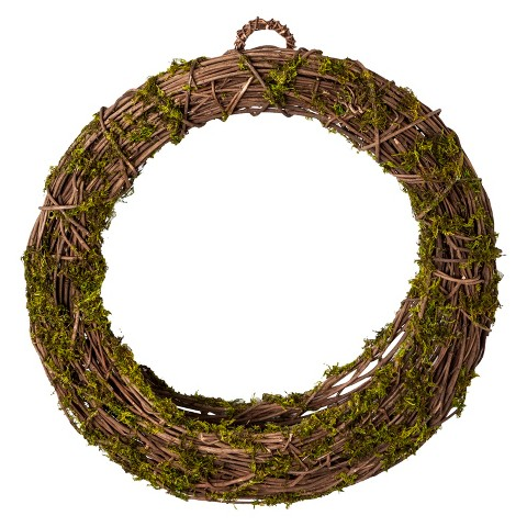 "Smith & Hawken™ Grapevine Wreath - Green 21.25"""