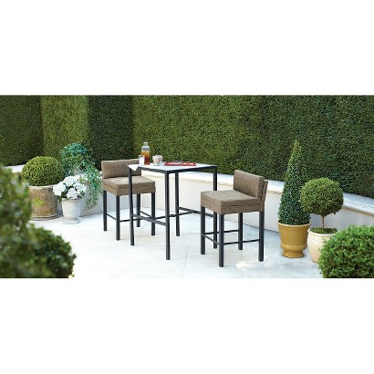 Threshold™ Linden 3-Piece Sling Patio Bistro Furniture Set
