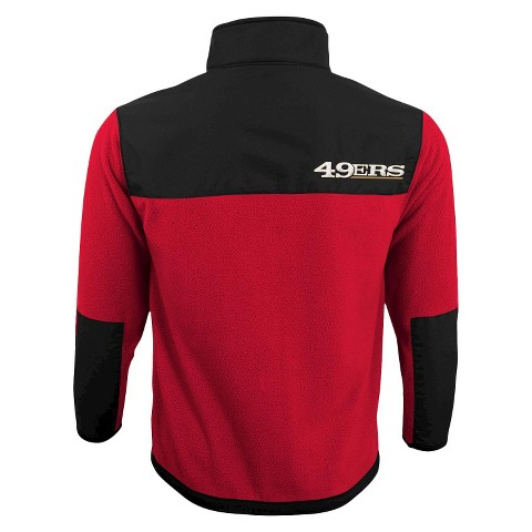 San Francisco 49ers Zip Fleece Shirt